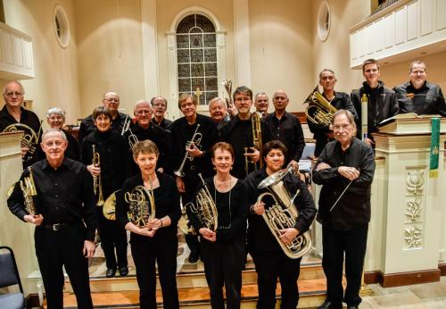 musicians of the blue ridge symphonic brass with brass instruments